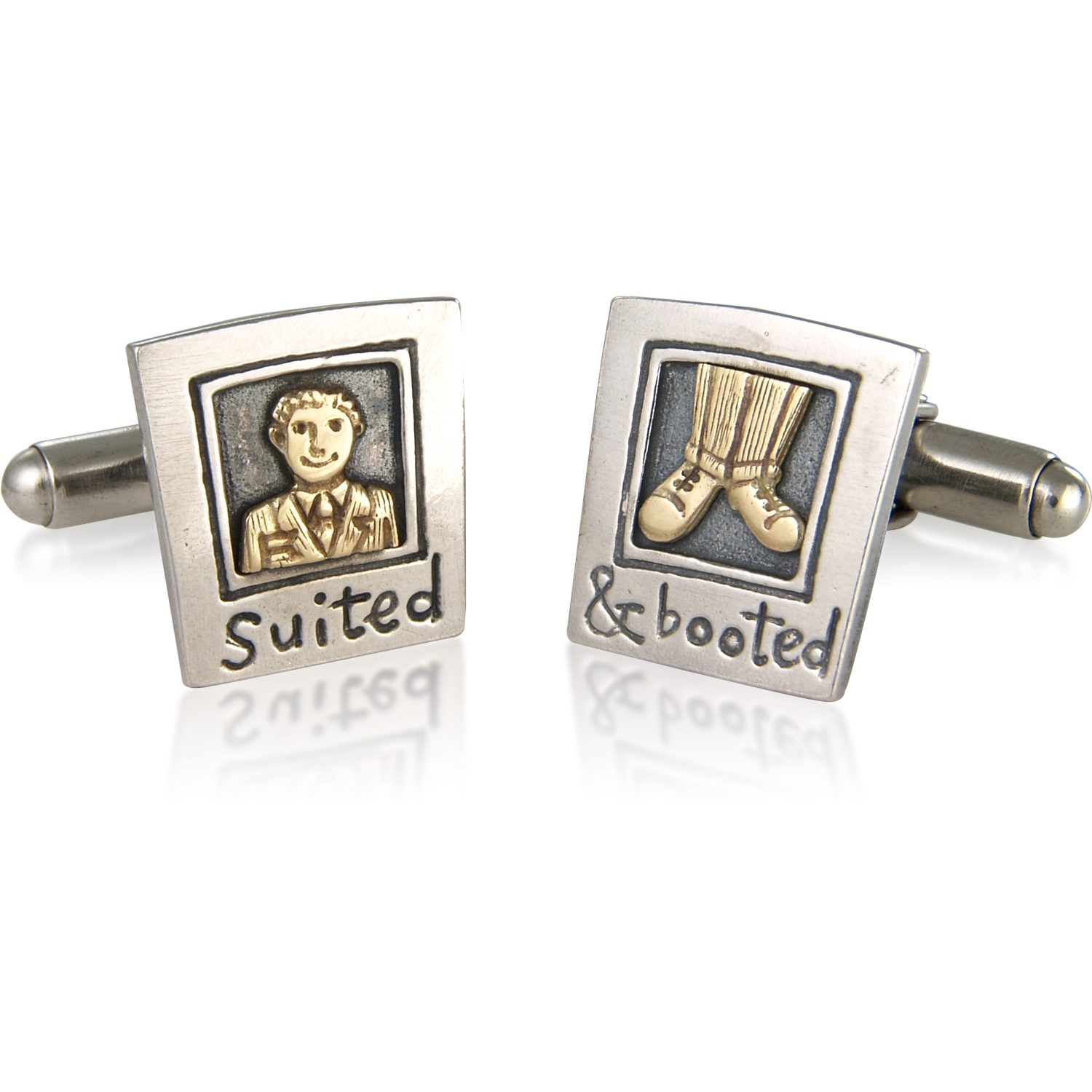 Nick Hubbard Suited And Booted Cufflinks