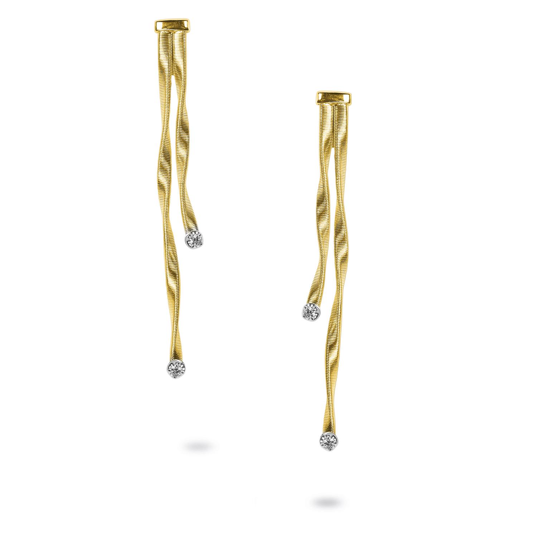Marco Bicego Marrakech Two-Strand Diamond Earrings