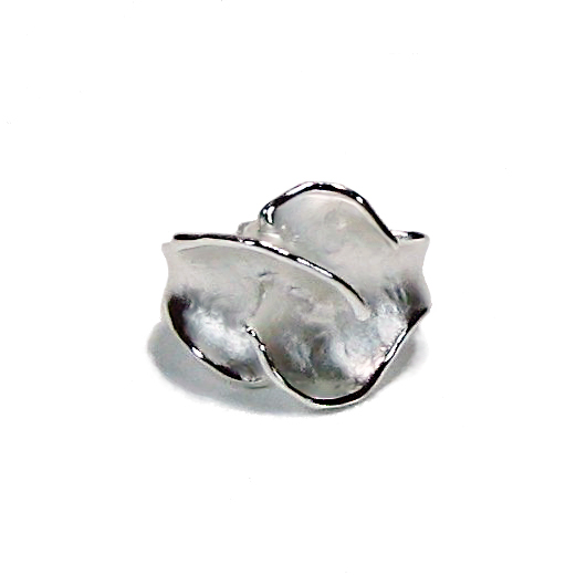 Charisma Small Silver Flower Ring
