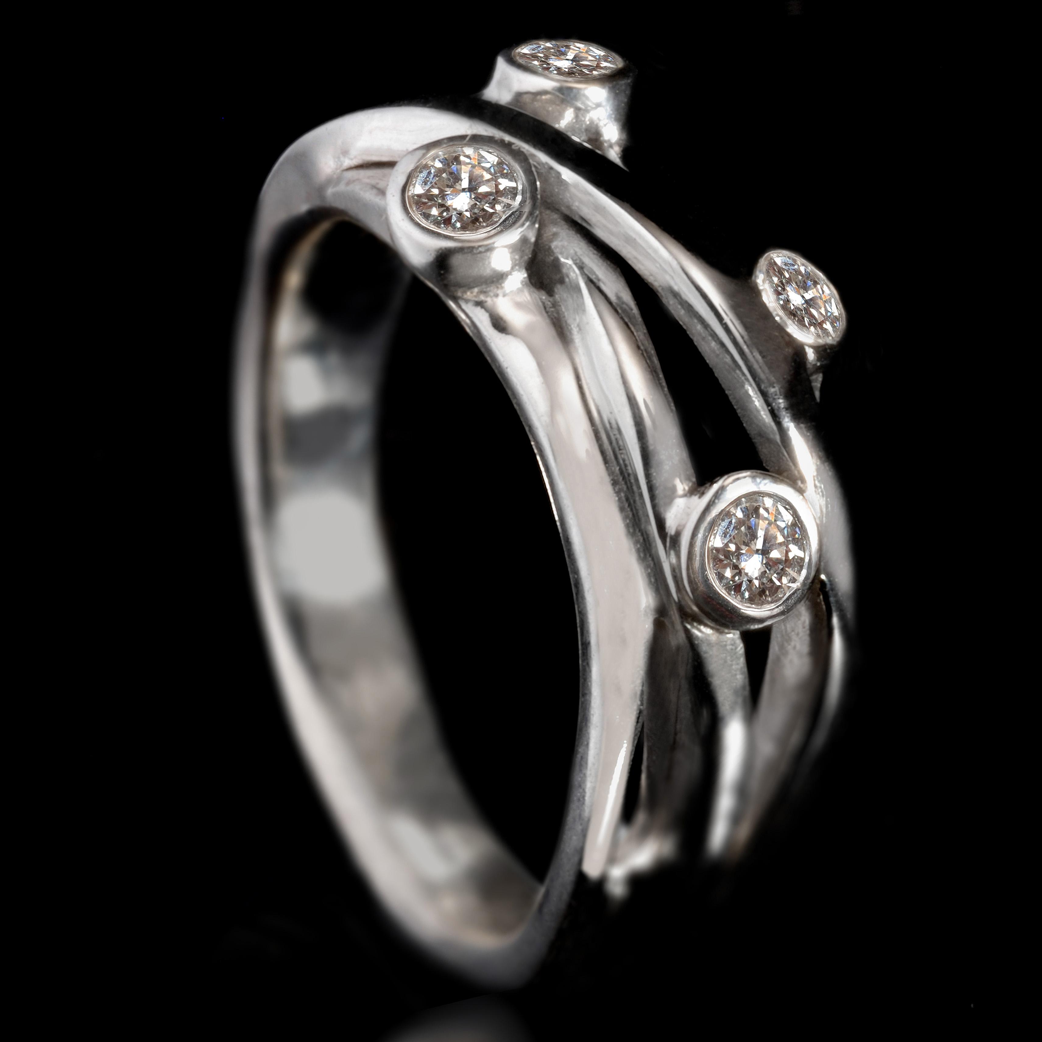 Williamson Brown 0.28ct Diamond Lifestyle Ring