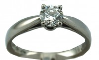 Furrer Jacot Fvs1 0.5CT Brilliant Cut Ring