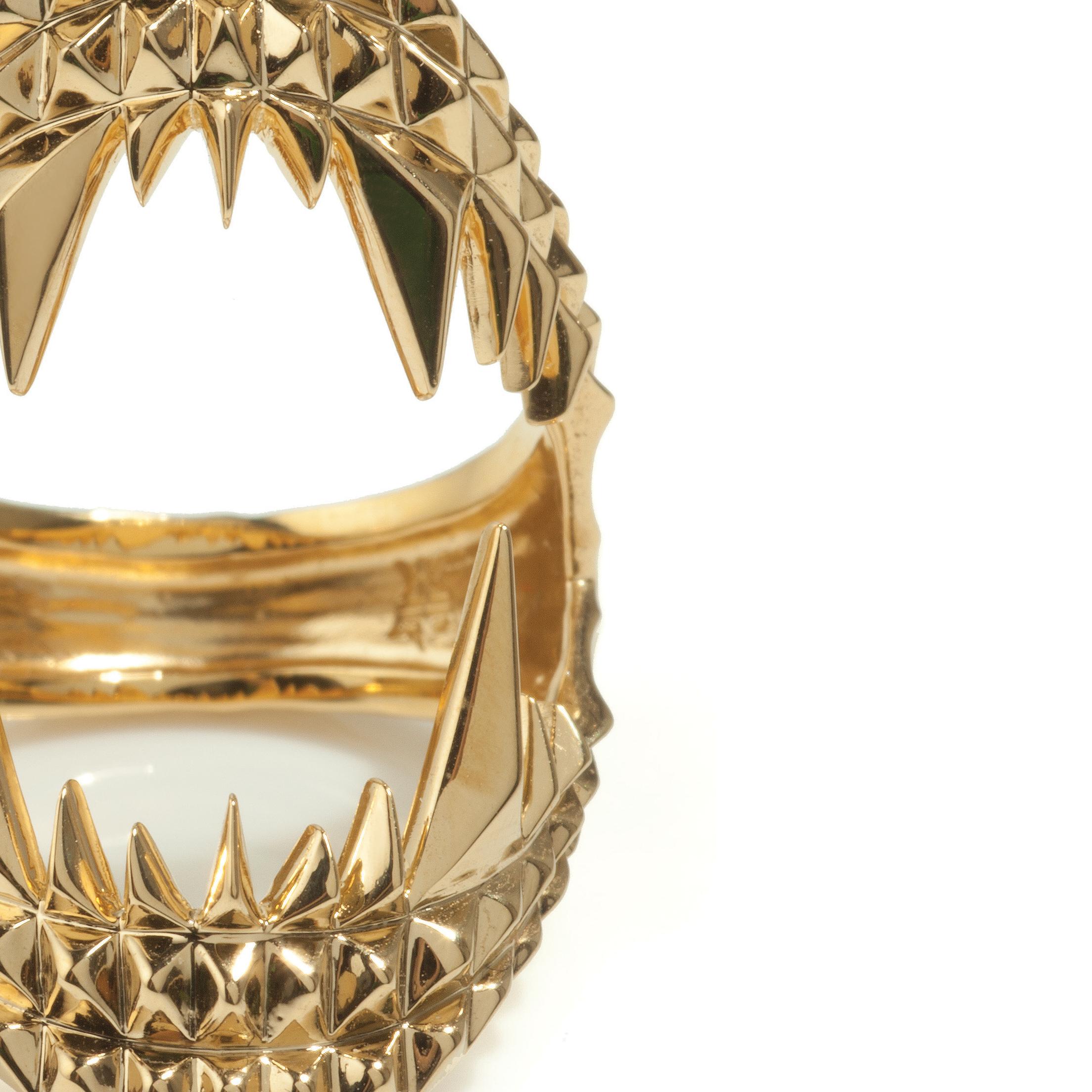 Kasun Gold Vampire Bite Ring