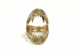 Kasun Vampire Bite Ring 18CT Gold Vermeil
