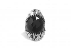 Kasun Vampire Bite Ring Silver
