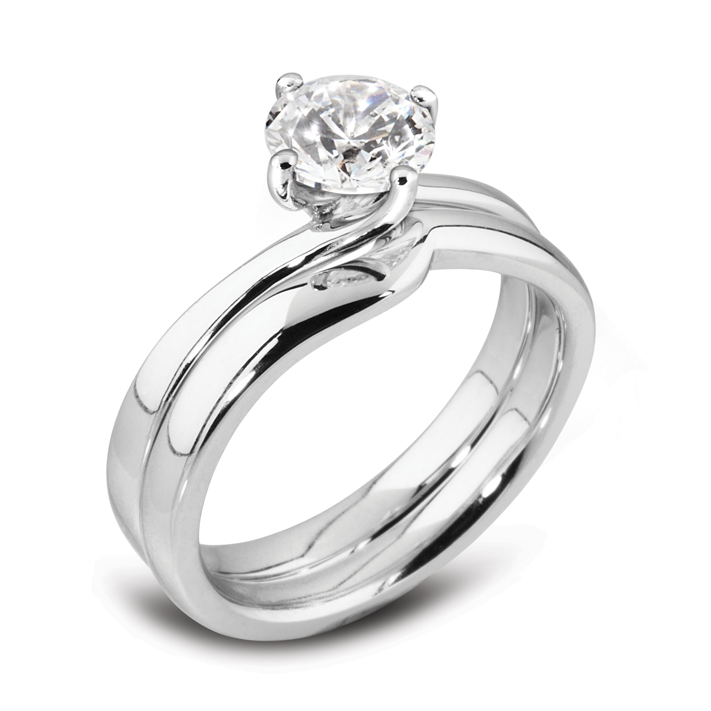 Williamson Brown 0.5ct White Gold Engagement Ring