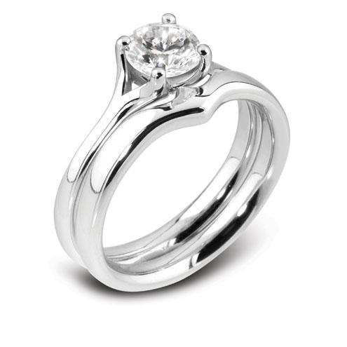 Williamson Brown 0.5ct Platinum Engagement Ring
