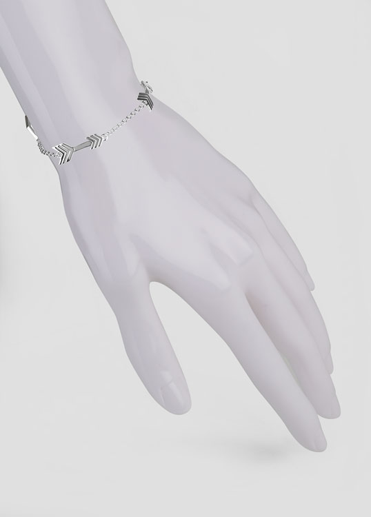 boutique dp silver com arrow jewelry joji amazon bracelet double