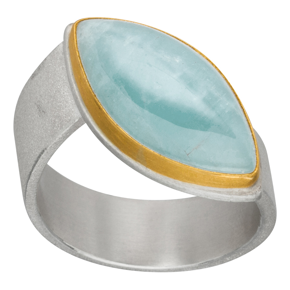Manu Aquamarine Ring