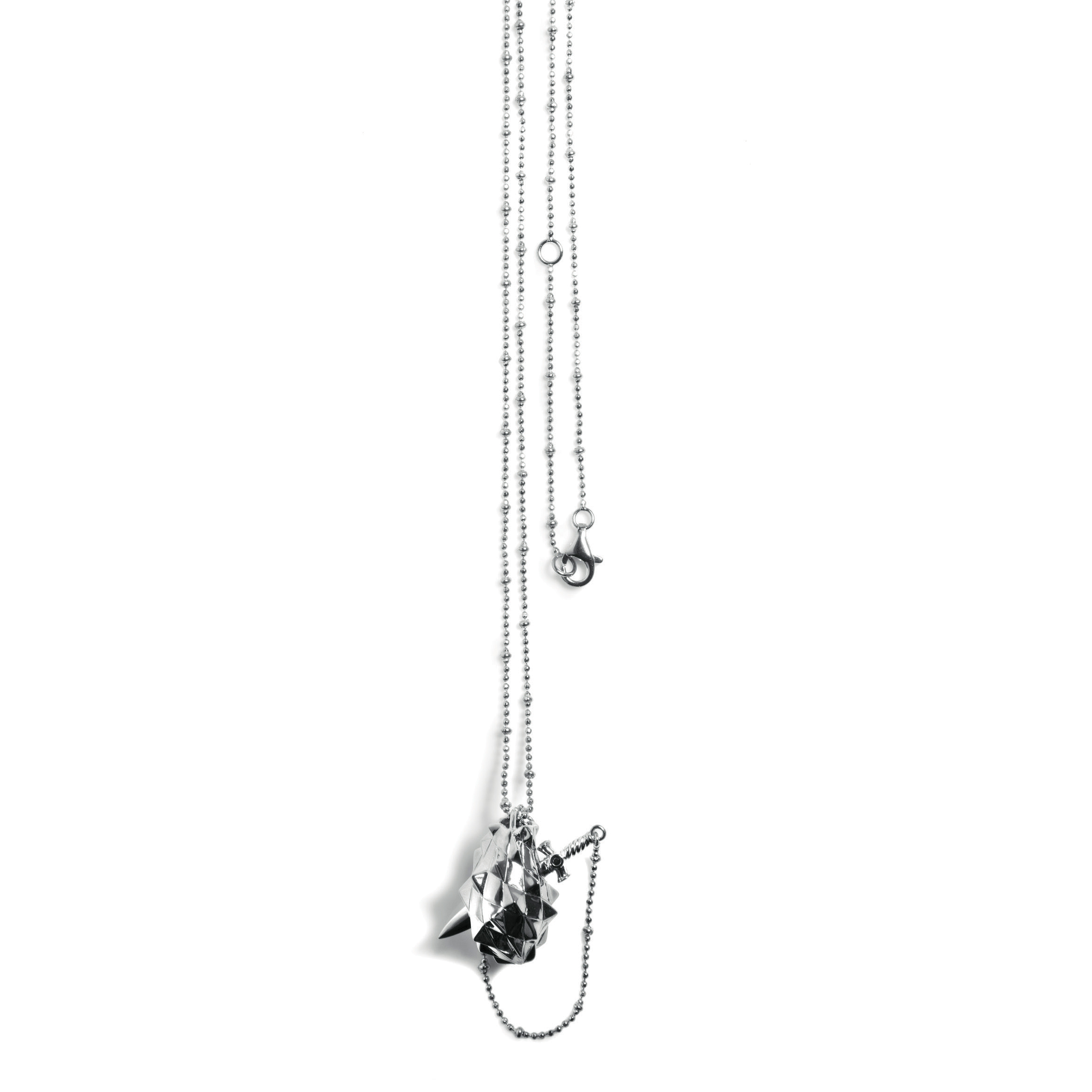 extender steel tone com chain hallmark pendant god love s ip from connections plus two stainless walmart