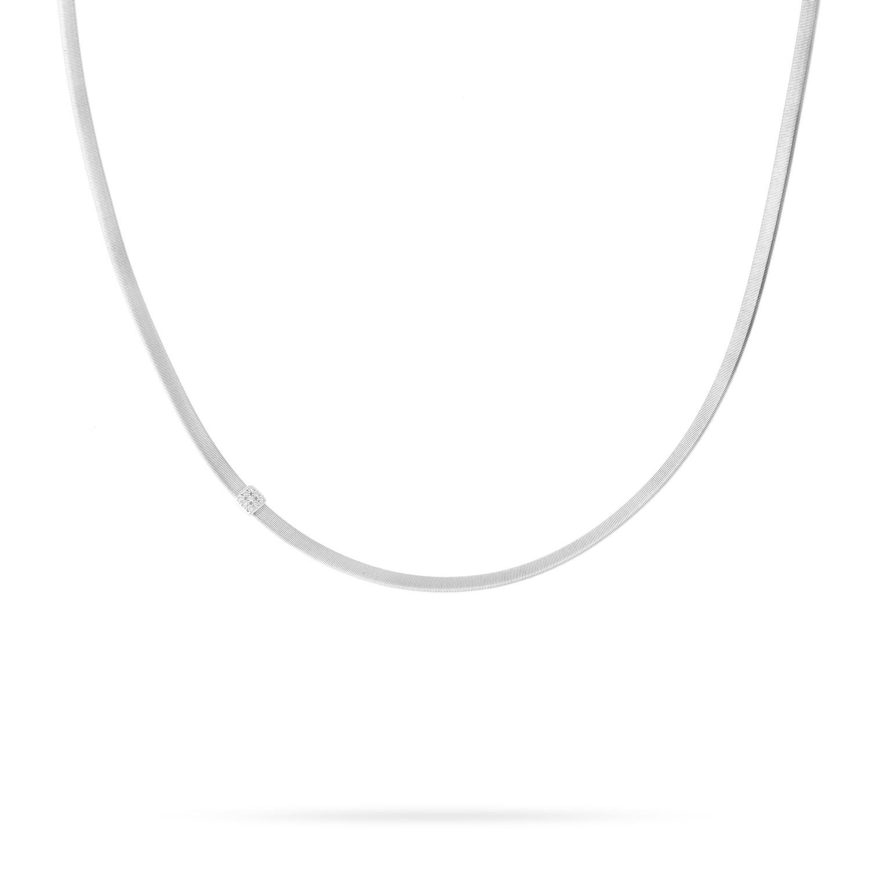 Marco Bicego Masai Single Strand Diamond Necklace