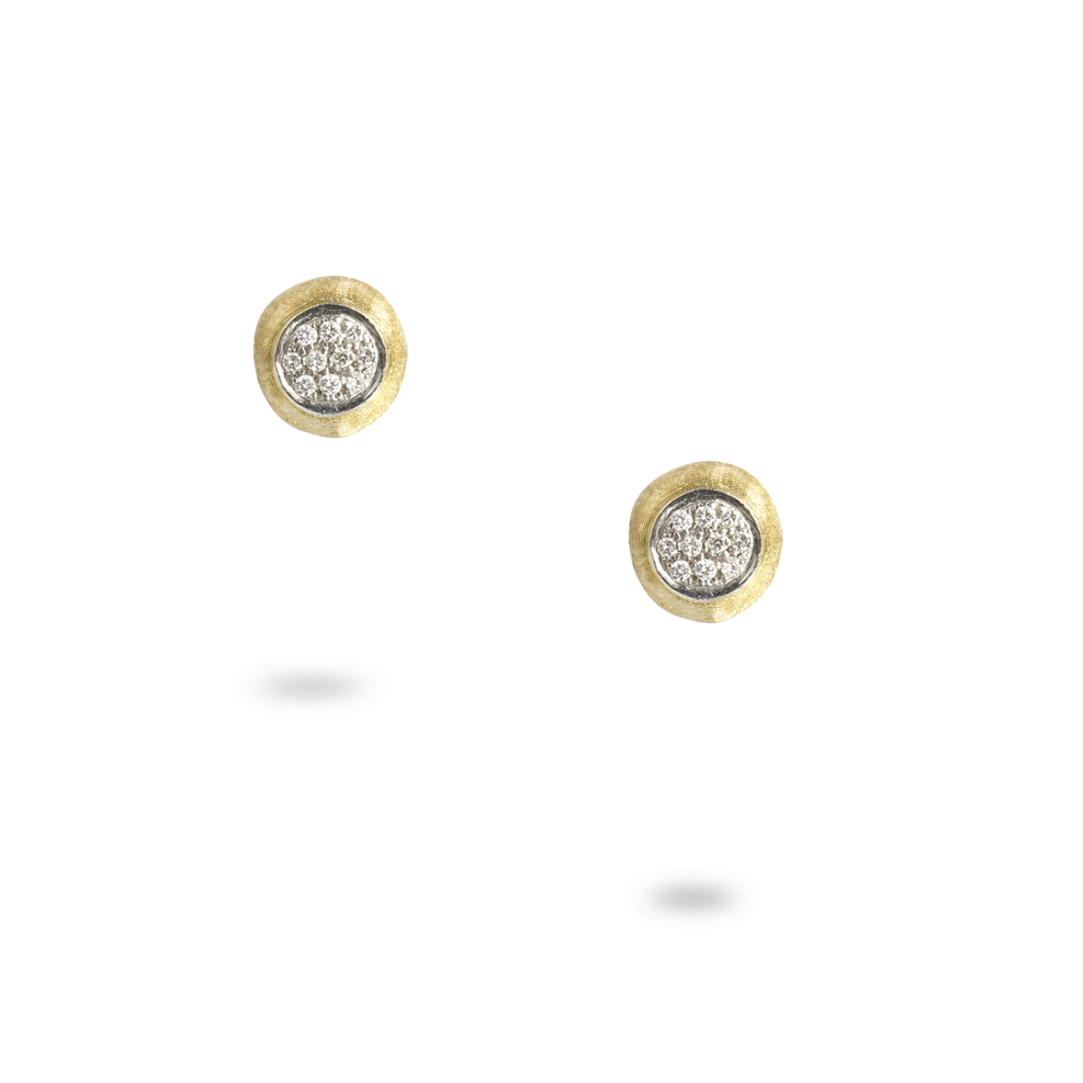 Marco Bicego Delicati Gold & Diamond Studs