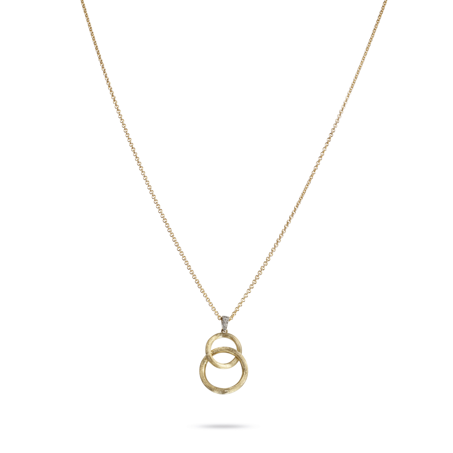 Marco Bicego Delicati Linked Circles Pendant