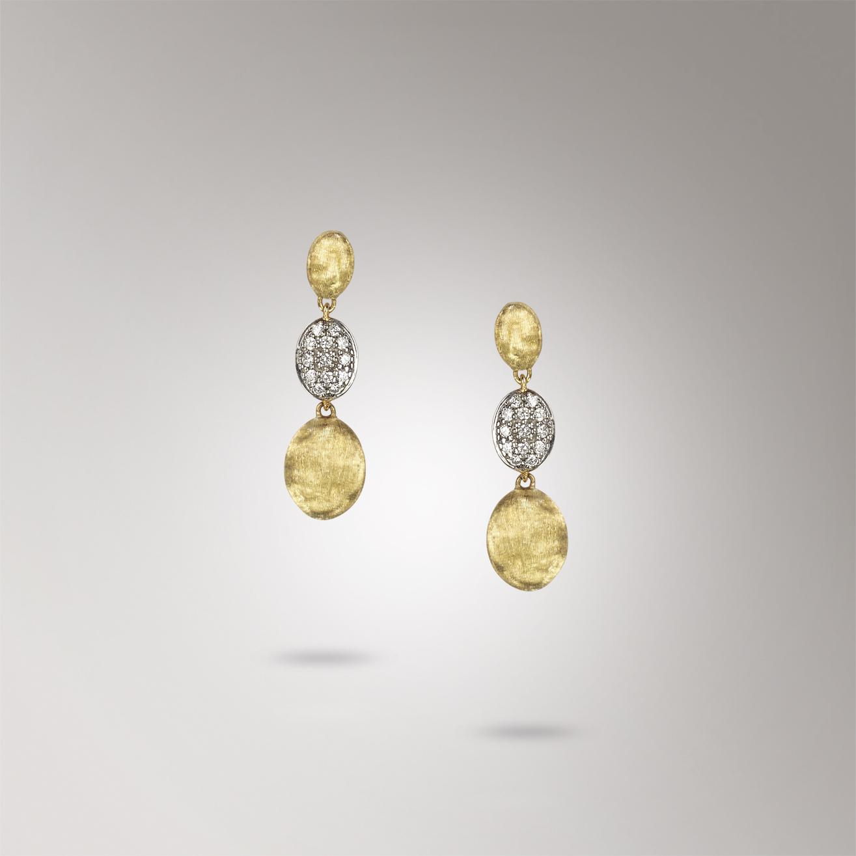 Marco Bicego Siviglia Diamond & Gold Drop Earrings