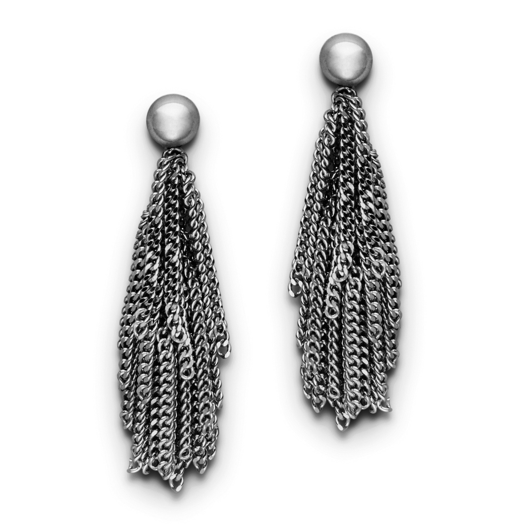Claudia Milić Black Rhodium Siara Earrings
