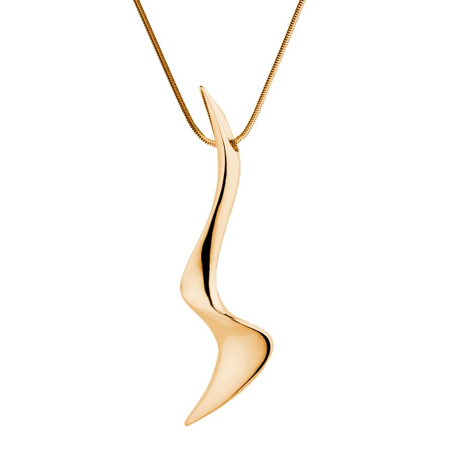 Sarah Jordan Gold Plated Cascade Pendant