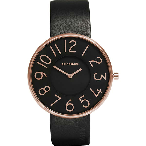 Rolf Cremer Black And Rose Gent 42 Watch