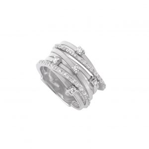 Marco Bicego Goa Seven-Strand Diamond Ring