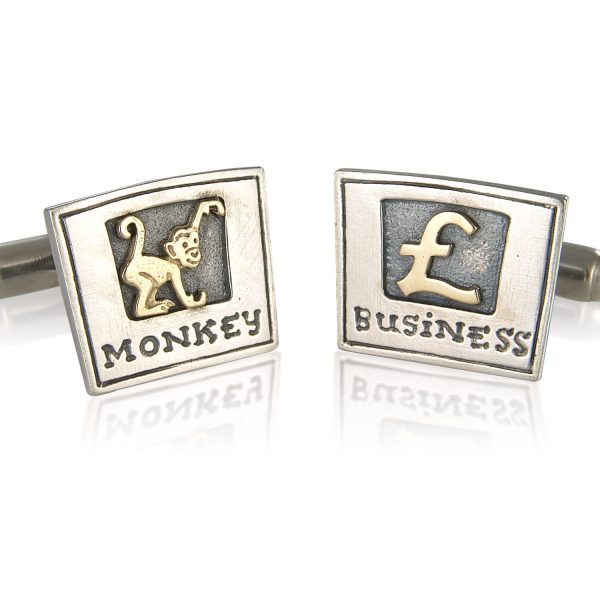 Monkey Business Cufflinks