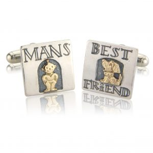 Nick Hubbard Man's Best Friend Cufflinks