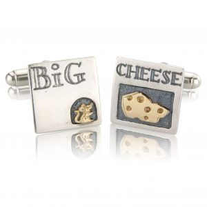 Nick Hubbard Big Cheese Cufflinks