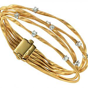 Marrakech Five Strand Diamond Bracelet