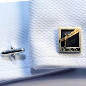 Williamson Brown Angel Of The North Cufflinks