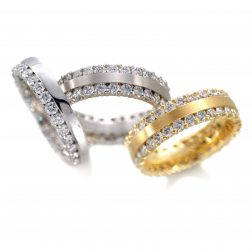 Furrer Jacot 2.1ct Double Row Full Eternity Ring