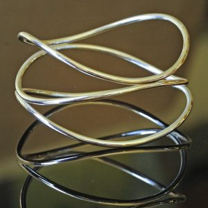Williamson Brown Triple Helix Bangle