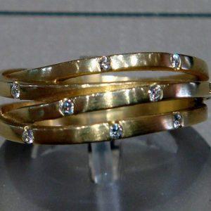 Diamond Multi Strand Lifestyle Ring