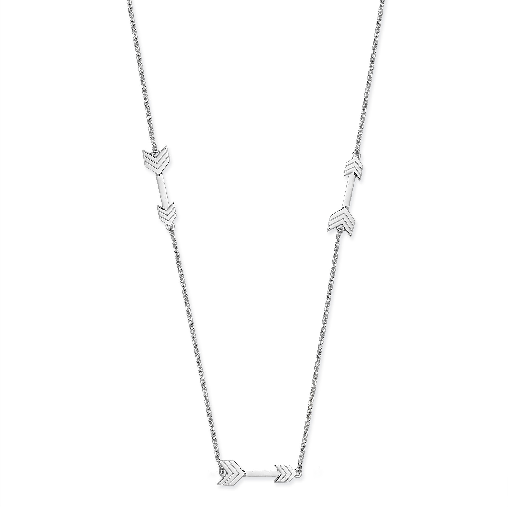 Lucy Q Long Arrow Necklace