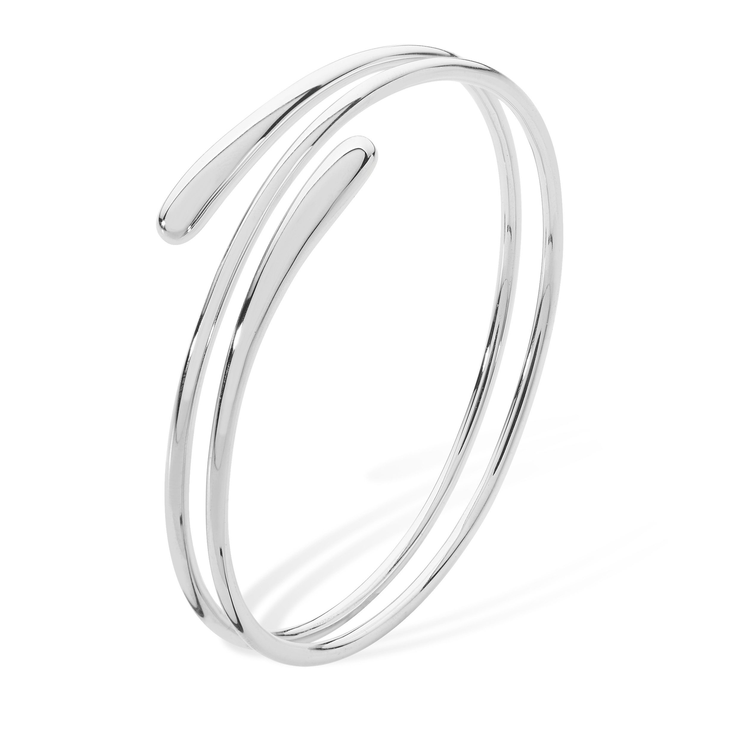Lucy Q Coil Drip Bangle