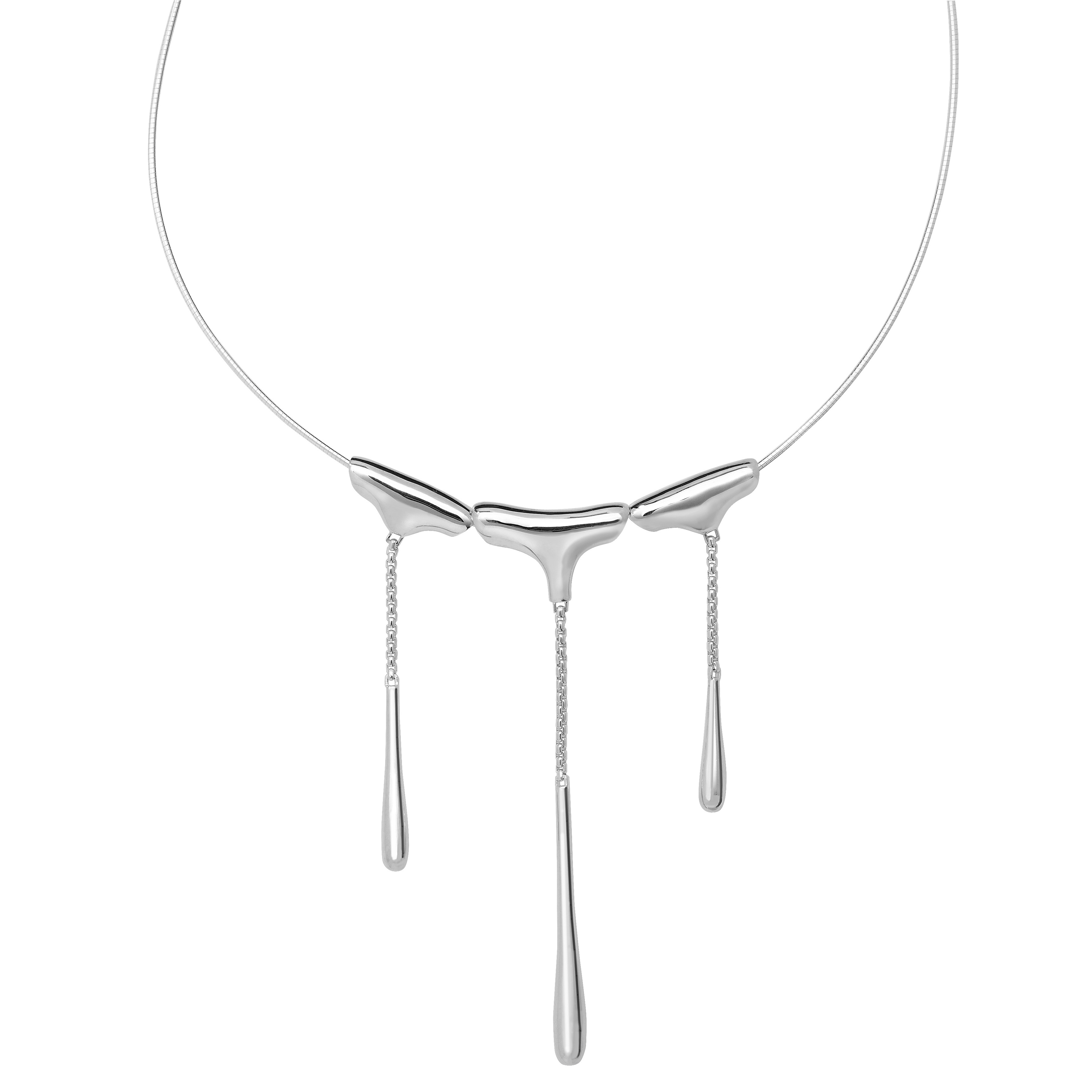 Lucy Q Three-Drip Necklace