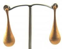 Lindenau Gold Vermeil Teardrop Stud Earring