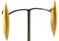 Lindenau Gold Vermeil Stud Pod Earring