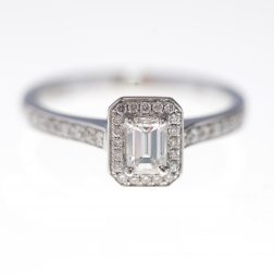 Antwerp Diamonds 0.5CT Diamond And White Gold Engagement Ring