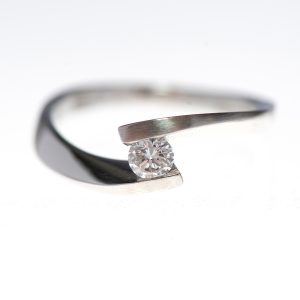 Rivoir 0.2ct Platinum Engagement Ring