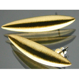 Lindenau Gold Plated Pod Earrings
