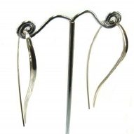 Williamson Brown Sterling Silver Grass Earring
