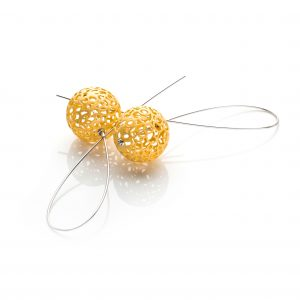 Lindenau Gold Vermeil Bobble Earrings