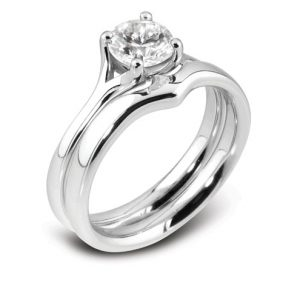 Williamson Brown 0.5ct Platinum Engagement Ring