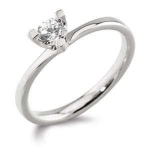 Williamson Brown Platinum Engagement Ring