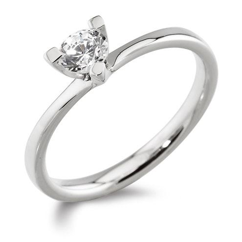 Williamson Brown Platinum Engagement Ring