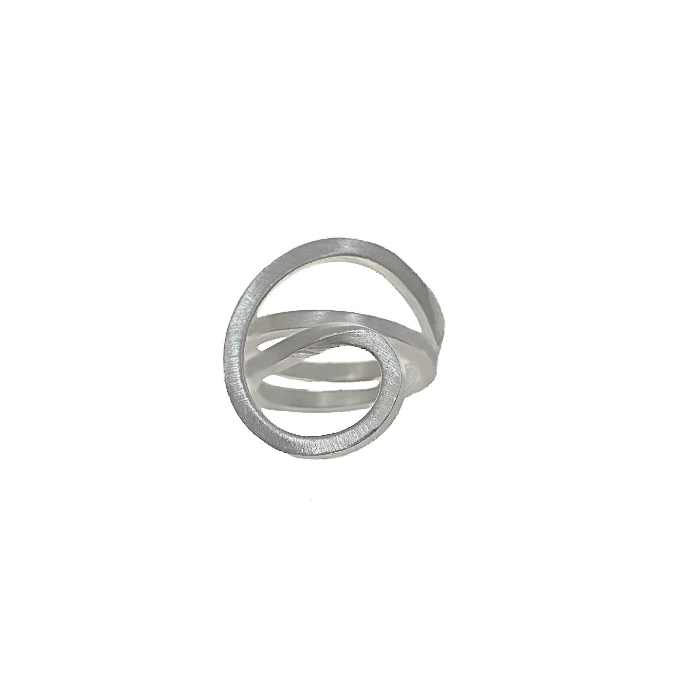 Tezer Spiral Floss Ring