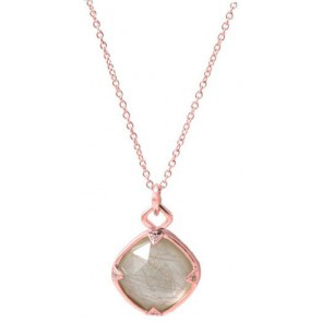 Jayce Wong Rock Crystal And Mother Of Pearl Pendant