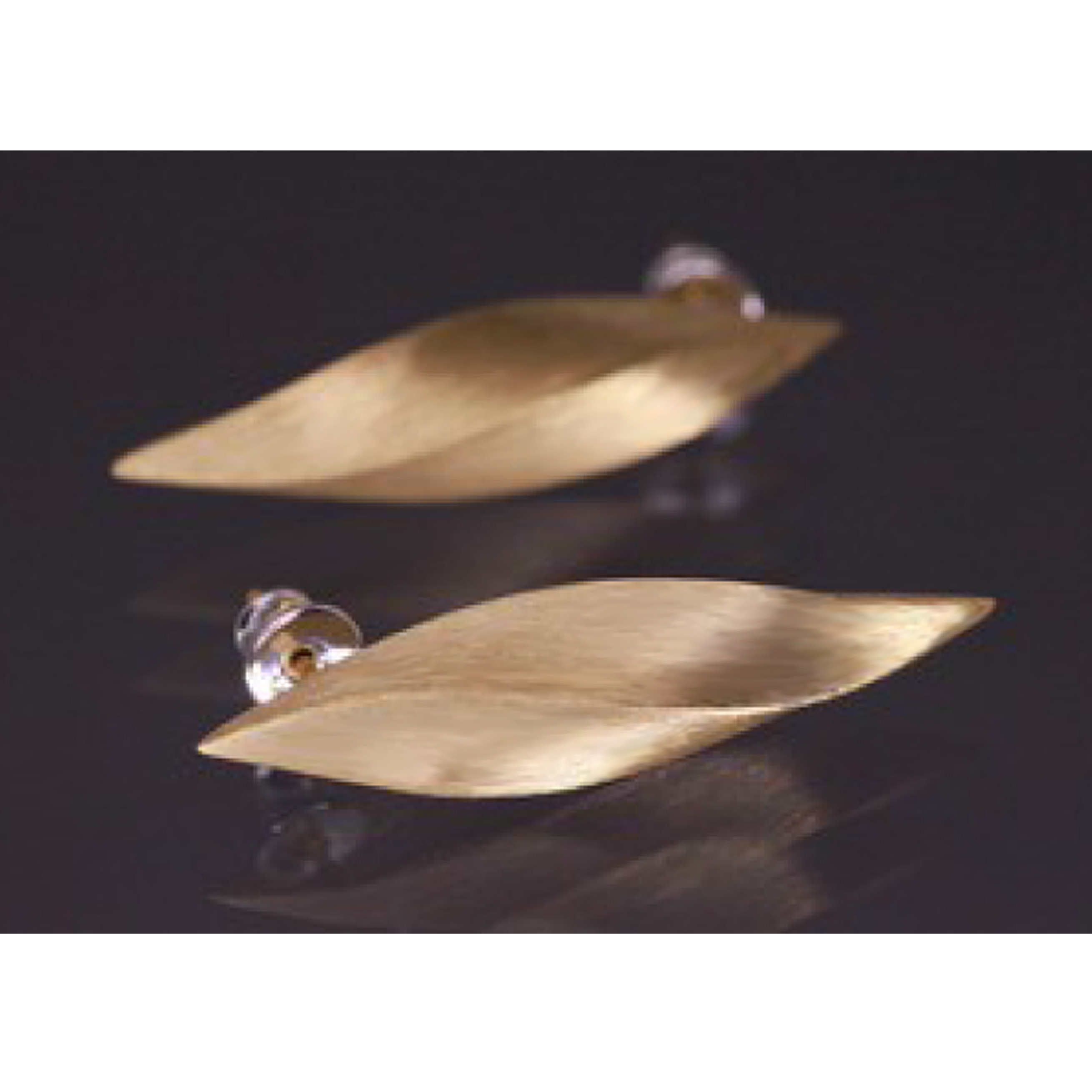 Lindenau Gold Plated Twisted Pod Earrings