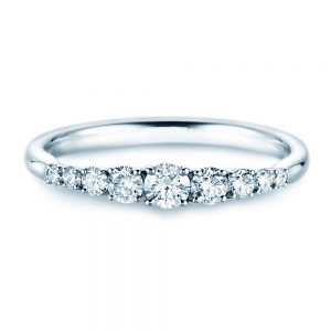 Rivoir White Gold & 0.46ct Diamond Ring