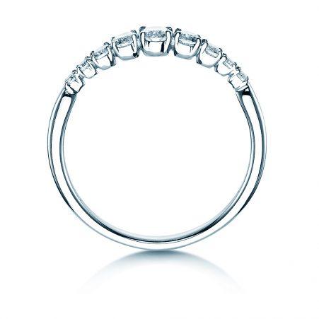 Ring 495037 Diamond Weissgold 2