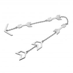 Lucy Q Silver Arrow Bracelet