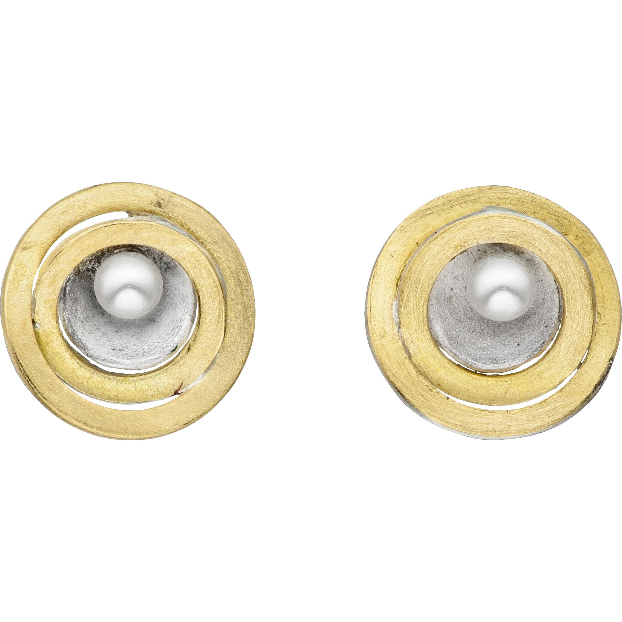 Manu Rings Of Saturn Studs