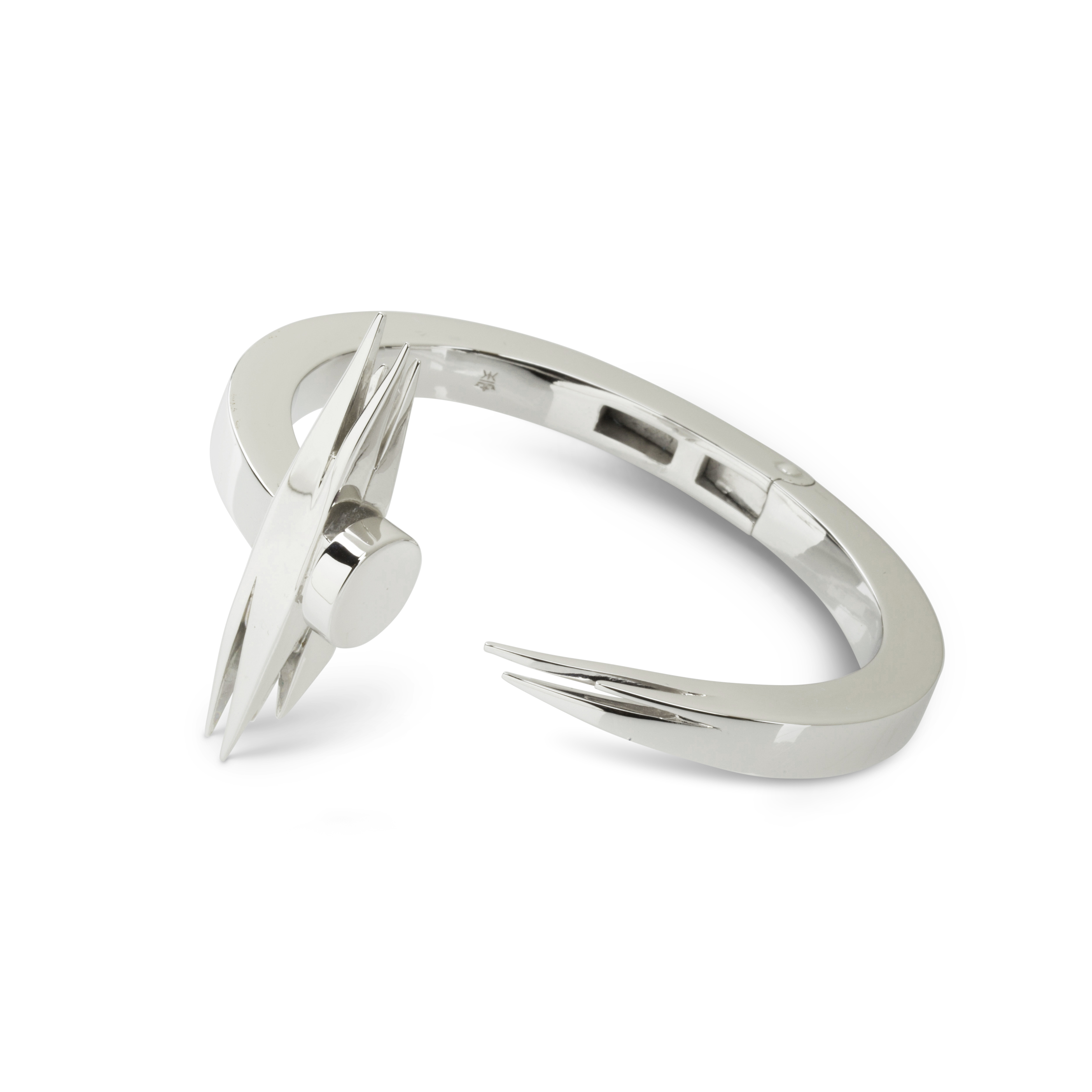 Kasun Silver Sticks & Stones Bangle
